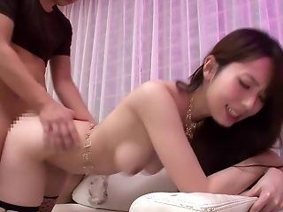 Babe, Big Tits, Fishnet, Japanese, Jav, Stockings, Yui Hatano,