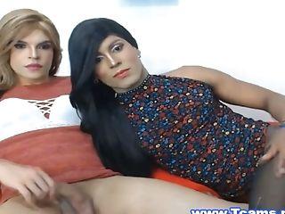 Tétée, Pretty, Transexuelle , Trans ,