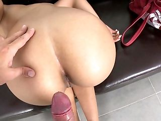 Amateur, Babe, Beauty, Brunette, Casting, Cute, Dick, From Behind, Hardcore, Money,