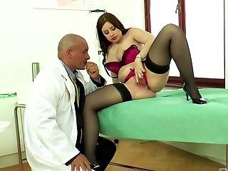 Ass, Babe, Big Tits, Blowjob, Cumshot, Curvy, Doctor, Gorgeous, Handjob, Lingerie,