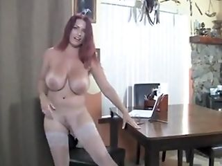 Big Tits, British, Chubby, Huge Tits, Long Hair, Masturbation, Mature, MILF, Miniskirt, Model,