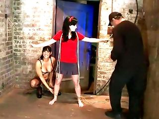 BDSM, Bound, Brutal, Caning, Cum, Elise Graves, Isis Love, Rough,