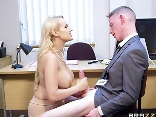 Big Tits, Blonde, Blowjob, Clothed Sex, Coed, Couple, Handjob, Hardcore, Licking, Long Hair,