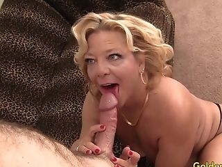 Blonde, Blowjob, Granny, Hardcore, Mature, Thick Cock,