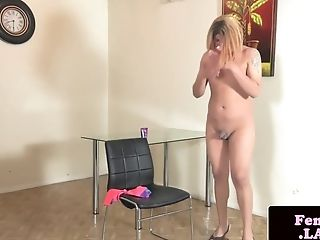 Amateur, Chubby, Dick, Femboy, HD, Jerking, Masturbation, Shemale, Solo,