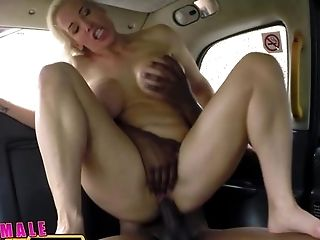 Big Tits, Blonde, Blowjob, Bold, Car, Caucasian, Couple, Creampie, Deepthroat, Hardcore,