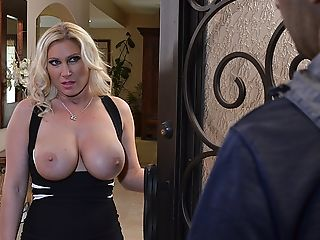 Big Tits, Blonde, Blowjob, British, Devon Lee, Dildo, Hardcore, HD, MILF, Neighbor,