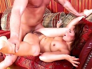 Ass, Ball Licking, Blowjob, Couch, Couple, Cowgirl, Cute, Doggystyle, Flexible, Hardcore,