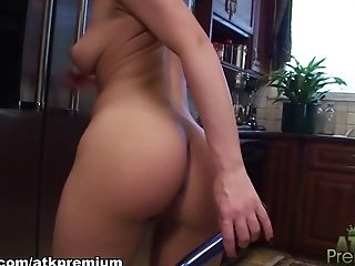 Amazing, Dildo, Horny, Katie St Ives, Masturbation, Panties, Pornstar, Sex Toys,