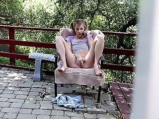 American, Babysitter, Blonde, Blowjob, Boobless, Captive, Cute, Fingering, Horny, Masturbation,