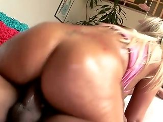 BBW, Beauty, Big Black Cock, Blonde, Cowgirl, Cute, Hardcore, Interracial, MILF, Oiled,