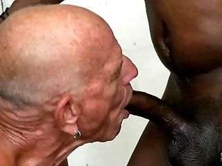 Bareback, Black, HD, Interracial, Old And Young,