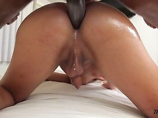 Anal Sex, Big Black Cock, Blonde, Cute, Ladyboy, Shemale, Tranny,