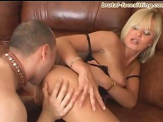 BDSM, Blonde, Femdom, Fetish, Mistress, Oral Sex, Russian, Slave, Submissive,
