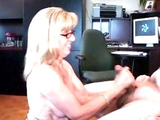 Amateur, Blowjob, Canadian, Carol Cox, Facial, Gokkun, Handjob, Mature, MILF, Mom,