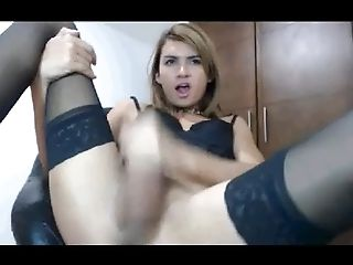 Crossdressing, HD, Masturbation, Webcam,