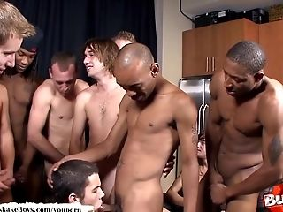 Bareback, Big Cock, Blowjob, Boy, Bukkake, Cumshot, Facial, Gangbang, Group Sex, Hunk,