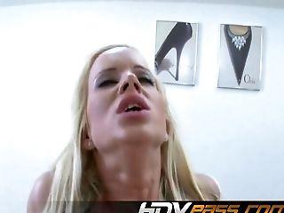 Anal Sex, Blonde, Cindy Dollar, Couple, Cum, Dirty, Fingering, Hardcore, Rough,