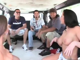 Babe, Big Ass, Bus, Cute, Extreme, Handjob, Hardcore, HD, Jayden Jaymes, Party,