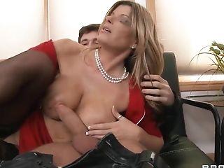 Big Tits, Blonde, Bold, Handjob, Hardcore, HD, Kristal Summers, MILF, Teen,