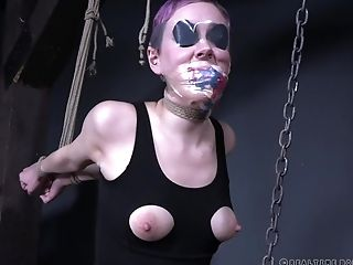 BDSM, Bondage, Fetish, Nerd, Short Haired, Teen, Tied,