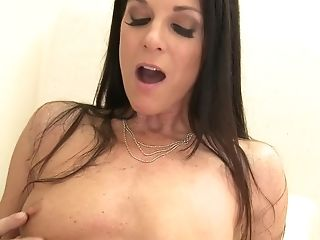 Big Cock, Blowjob, Brunette, Deepthroat, Hardcore, India Summer, MILF, Natural Tits, Petite, Pornstar,