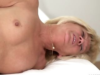 Ass, Blowjob, Boobless, Cowgirl, Cumshot, Dick, Facial, Granny, Handjob, Housewife,