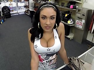 Amateur, Babe, Blowjob, Brunette, Horny, Latina, Money, Office, POV, Reality,