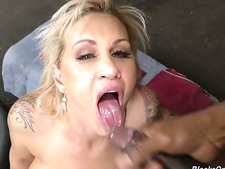 Anal Sex, Ass, Beauty, Big Black Cock, Big Cock, Big Tits, Black, Blonde, Blowjob, Boots,
