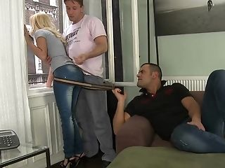 Blonde, Double Penetration, French, Group Sex, Hardcore, HD, Jessie Volt, Reality, Skinny, Teen,