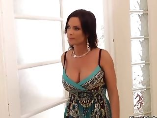 Big Tits, Brunette, Diamond Foxxx, Friend, Hardcore, HD, Mature, MILF, Old And Young, Son,