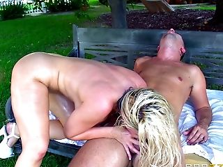 Anal Sex, Ass, Big Cock, Blowjob, Cowgirl, Doggystyle, Hardcore, High Heels, MILF, Moaning,