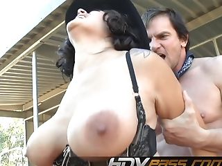 Big Cock, Big Tits, Brunette, Couple, Cumshot, Facial, Hardcore, Outdoor, Raylene, Riding,