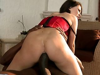 Anal Creampie, Anal Sex, Ass, Big Black Cock, Clamp, Close Up, Couple, Cowgirl, Creampie, Cum,