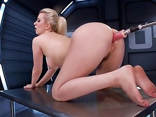 American, Ass, Big Ass, Blonde, Cherry Torn, From Behind, Fucking Machine, Legs, Sex Toys, Solo,