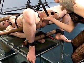 Anal Sex, BDSM, Big Tits, Electrified, Femdom, Fingering, HD, Lesbian, Lorelei Lee, MILF,