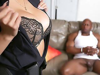 Big Ass, Big Black Cock, Black, Blowjob, Bondage, Boots, Brunette, Cop, Dick, Doggystyle,